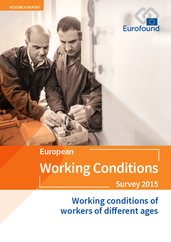 Vignette document Working conditions of workers of different ages. European working conditions Survey 2015