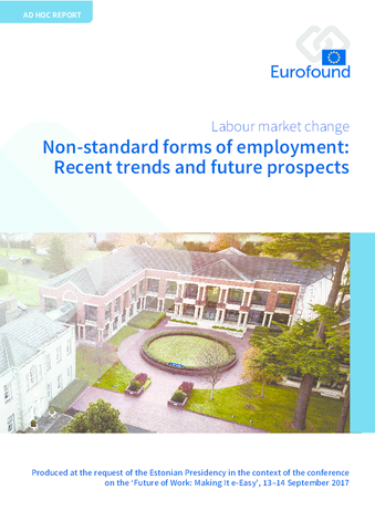 Vignette document Non-standard forms of employment. Recent trends and future prospects