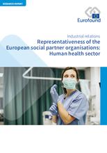 Vignette document Representativeness of the European social partner organisations : Human health sector : Représentativité des organisations européennes de partenaires sociaux : secteur de la santé