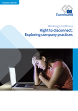 Vignette document Right to disconnect : exploring company practices