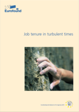 Cover of the report Job tenure in turbulent times