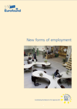Image of the cover of the New forms of employment report